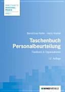Taschenbuch Personalbeurteilung: Feedback in Organisationen - Bernd ...
