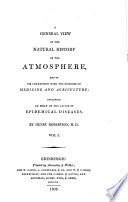A General View of the Natural History of the Atmosphere