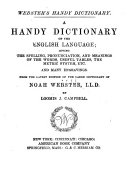 Webster's Handy Dictionary