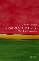 Garden History  A Very Short Introduction
