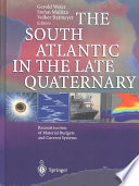 The South Atlantic In The Late Quaternary Book