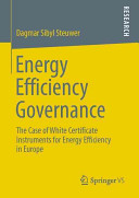 Energy Efficiency Governance