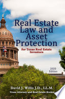 Real Estate Law  Texas 2020