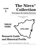 The Nirex Collection  Research guide and historical profile