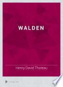 Walden by Henry David Thoreau PDF