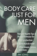 Body Care Just for Men