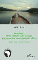 Pdf Le NEPAD et les institutions financières en Afrique au 21e siècle Telecharger
