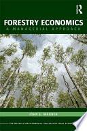 Forestry Economics Book