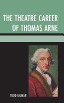 The Theatre Career of Thomas Arne Pdf