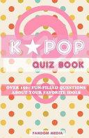 Kpop Quiz Book
