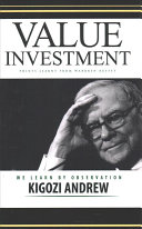 Value Investment Points Learnt from Warren Buffet