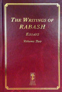 The Writings of RABASH   Essays Volume Two