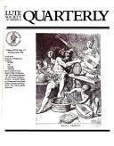 Lute Society of America Quarterly