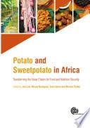 Potato and Sweetpotato in Africa Book