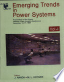 Emerging Trends in Power Systems, Vol. 1