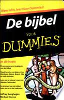De Bijbel Voor Dummies Druk 1
