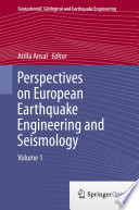 Perspectives On European Earthquake Engineering And Seismology Book PDF