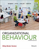 Organizational Behaviour  Canadian Binder Ready Version