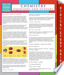 Chemistry Equations And Answers  Speedy Study Guides