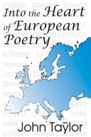 Pdf Into the Heart of European Poetry Telecharger