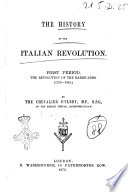 The History of the Italian Revolution, First Period