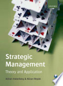 Strategic Management  : Theory and Application