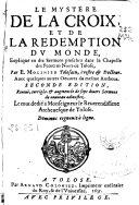 Le Mystere de la Croix et de la Redemption Du Monde