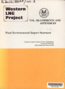 Western LNG Project  Comments and appendices