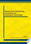 Mechatronics Engineering, Computing and Information Technology