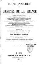 Dictionnaire des communes de la France...
