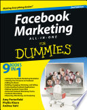 Facebook Marketing All in One For Dummies Book