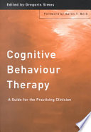 Cover of Cognitive Behaviour Therapy
