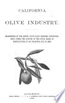California Olive Industry Book PDF