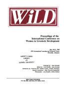 Proceedings of the International Conference on Women in Livestock Development