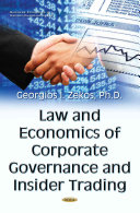 Law and Economics of Corporate Governance and Insider Trading