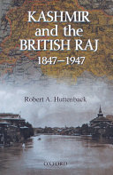 Kashmir And The British Raj 1847 1947