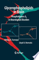 Glycerophospholipids In The Brain Book PDF