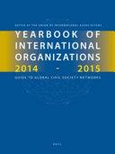 Yearbook Of International Organizations 2014 2015 6 Vols