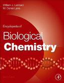 Encyclopedia of Biological Chemistry