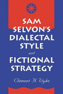 Pdf Sam Selvon's Dialectal Style and Fictional Strategy