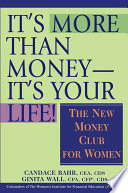 It s More Than Money  It s Your Life