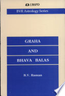 Graha And Bhava Balas, 13Th Edition