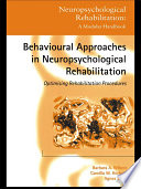 Behavioural Approaches In Neuropsychological Rehabilitation Book PDF