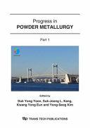 Progress in Powder Metallurgy