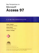 New Perspectives on Microsoft Access 97