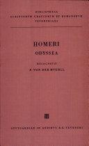 Homeri: Odyssea