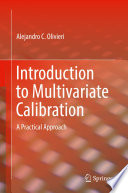 Introduction to Multivariate Calibration