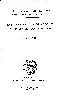 The Penetration of Atomic Particles Through Matter Book