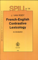 French-English Contrastive Lexicology