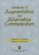 The Handbook of Augmentative and Alternative Communication Book